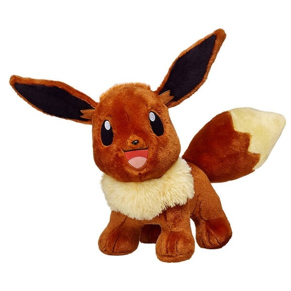 POKÉMON Eevee Build A Bear Plush Toy Collectable